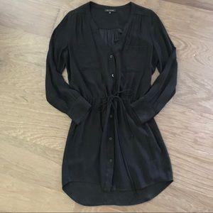 EUC Glam Shirt Dress